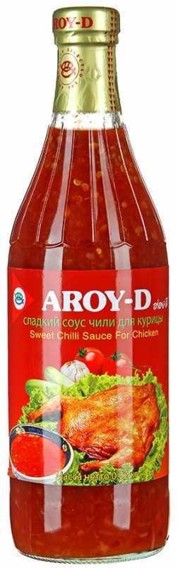 Сладкий соус чили Aroy-D для курицы, 920г