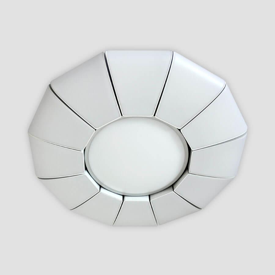 Фото - Потолочный светильник Ambrella light FP2311 WH 114W D480, LED, 114 Вт светильник ambrella gx53 led g444 wh ww