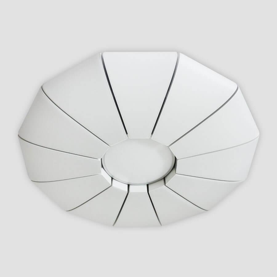 Потолочный светильник Ambrella light FP2312 WH 210W D740, LED, 210 Вт управляемый светодиодный светильник ambrella light fp2314l wh 210w d740