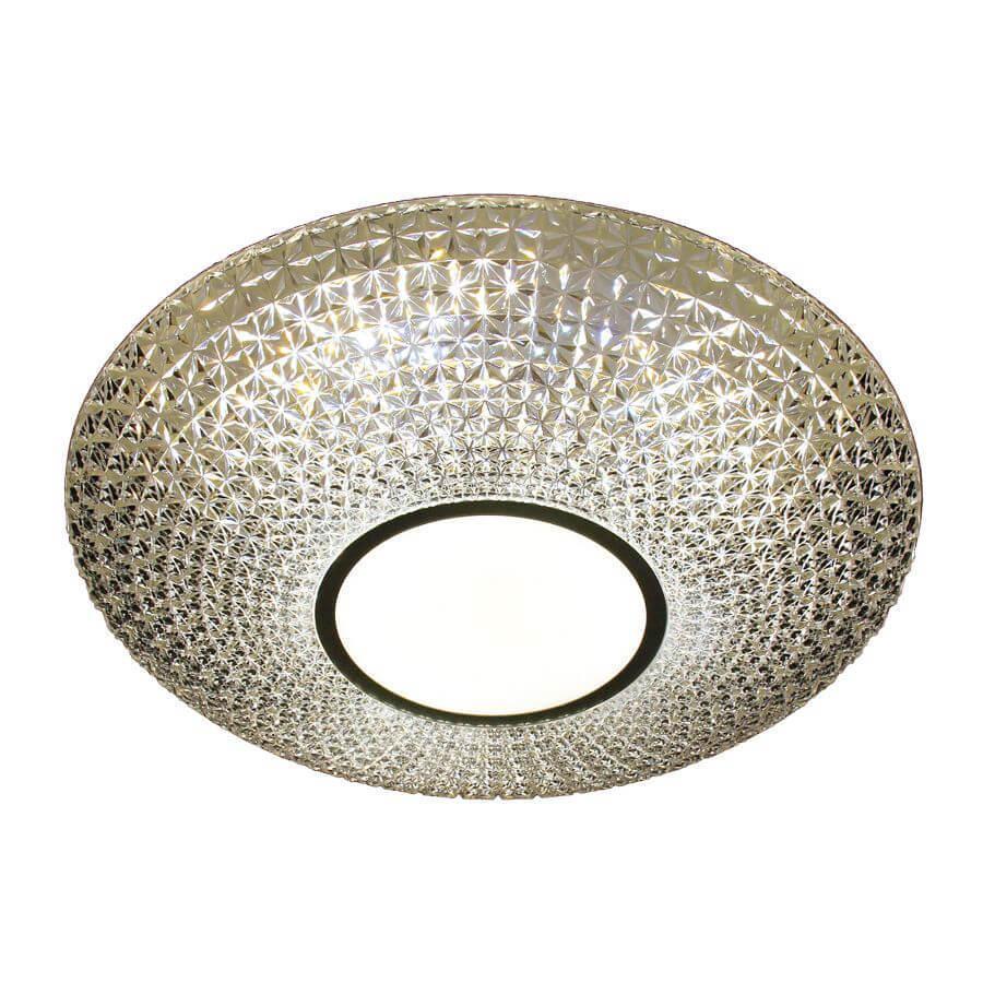 Накладной светильник Ambrella light F101 CL 48W D400, LED, 48 Вт ambrella встраиваемый светильник ambrella led s701 cl ch ww