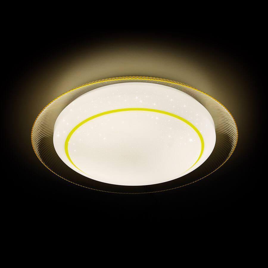 Накладной светильник Ambrella light F46 YL 48W D450, LED, 48 Вт светильник 31 век книга yl t285