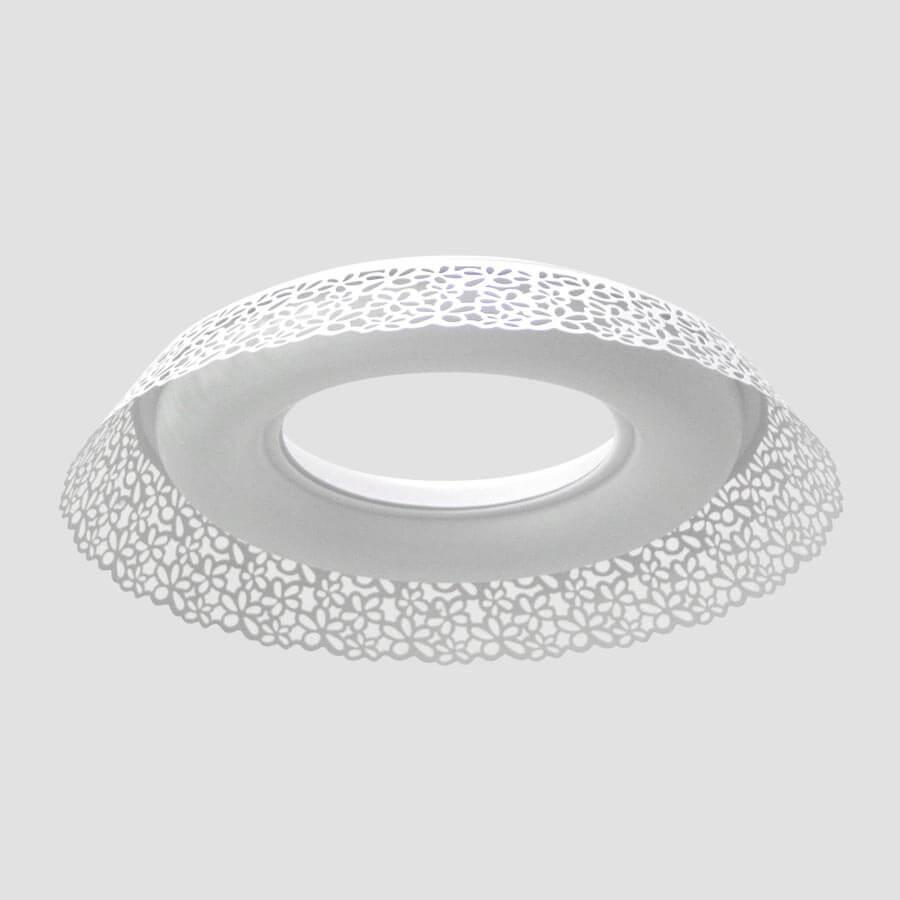 Потолочный светильник Ambrella light F121 WH 72W D620, LED, 72 Вт цены онлайн
