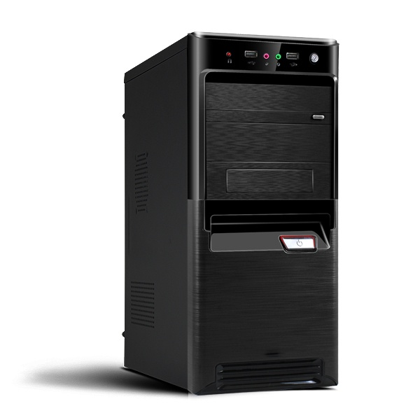 Корпус Miditower CROWN CMC-SM164 black ATX w/o цена