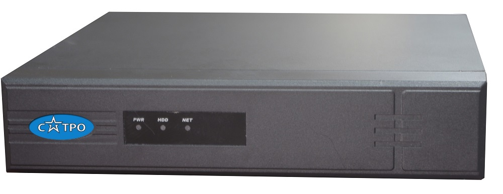 8-ми канальный IP видеорегистратор САТРО-VR-N081 VP