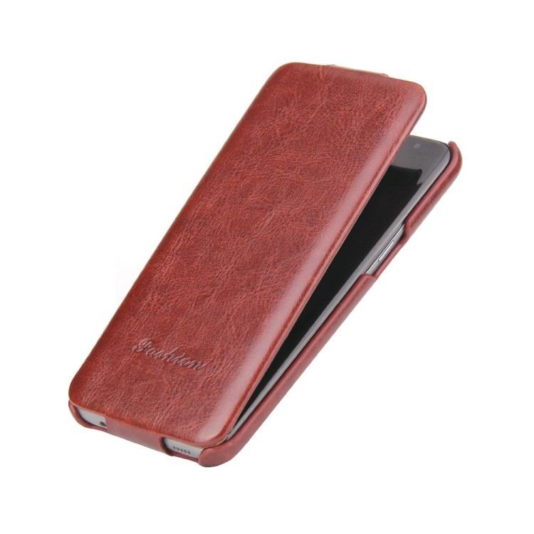 Чехол-флип MyPads для Samsung Galaxy S8 Plus SM-G955 вертикальный откидной коричневый смартфон samsung galaxy s8 plus sm g955 фиолетовый