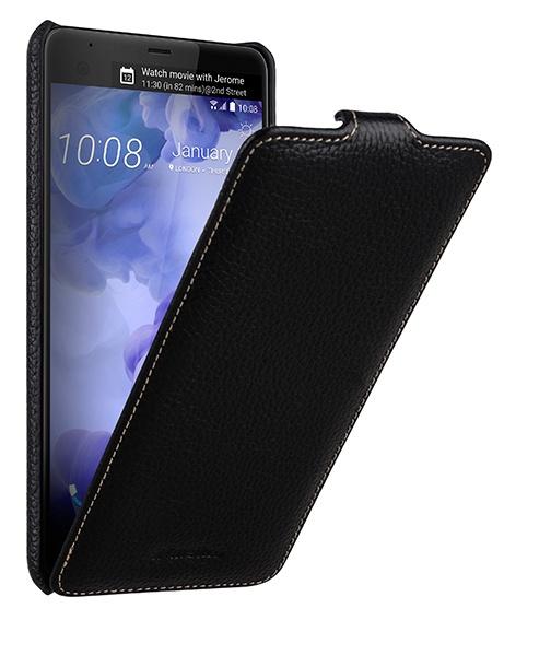Чехол-флип MyPads для HTC U Ultra вертикальный откидной черный из натуральной кожи аксессуар чехол для htc u ultra brosco silicone black htc uu tpu black