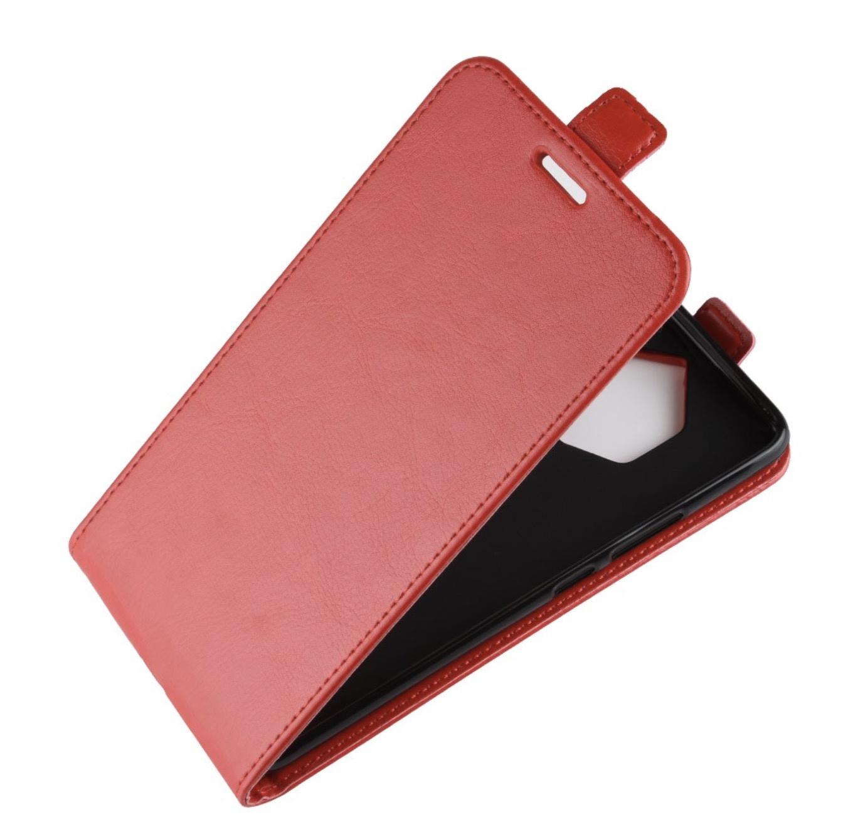 Чехол-флип MyPads для Sony Xperia XZ1 Compact G8441 4.6 вертикальный откидной красный