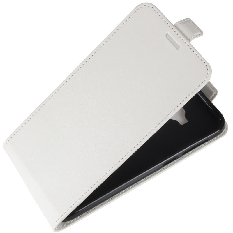 Чехол-флип MyPads для ASUS ZenFone 4 Selfie Pro ZD552KL вертикальный откидной белый цена и фото