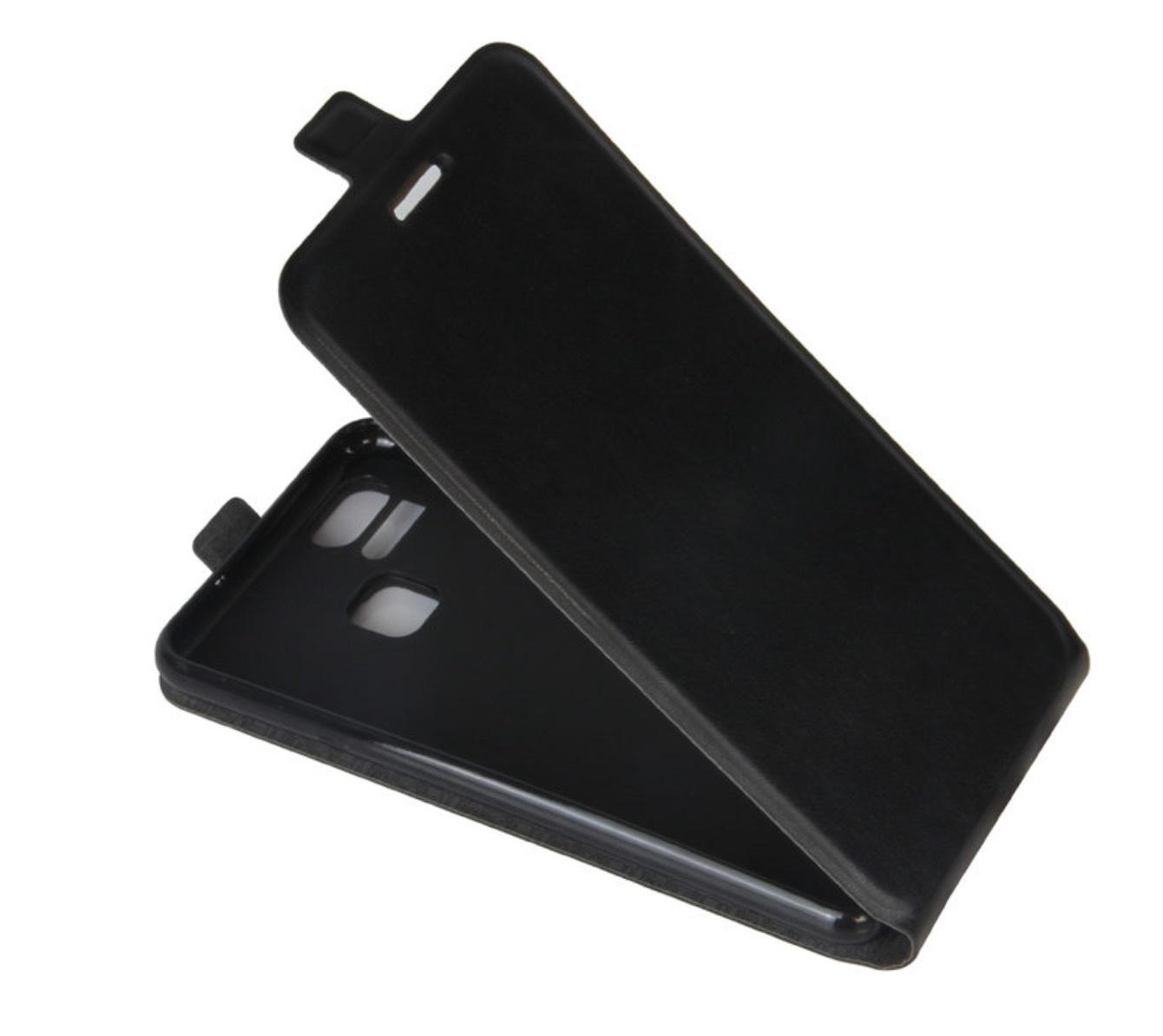 Чехол-флип MyPads для Asus ZenFone 3 Zoom ZE553KL 5.5 вертикальный откидной черный аксессуар защитное стекло для asus zenfone 3 zoom ze553kl luxcase 0 33mm 82292