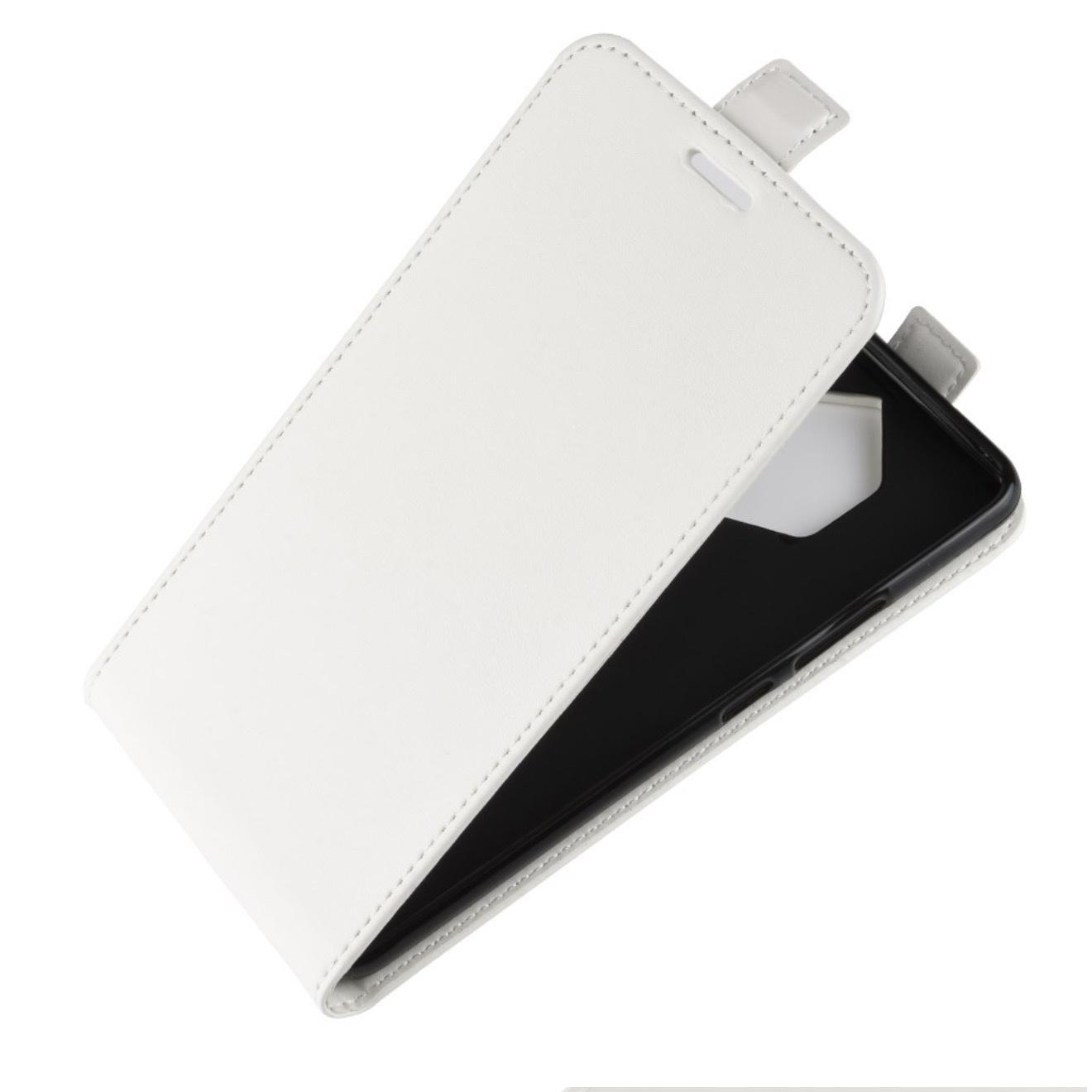 Чехол-флип MyPads для Digma Linx A400 3G вертикальный откидной белый