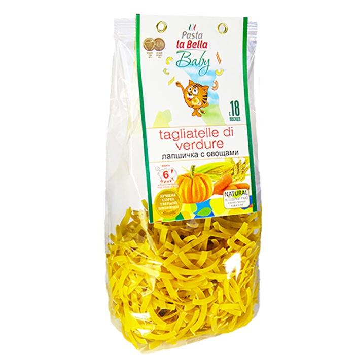 Pasta la Bella Baby Лапшичка с Овощами цена в Москве и Питере