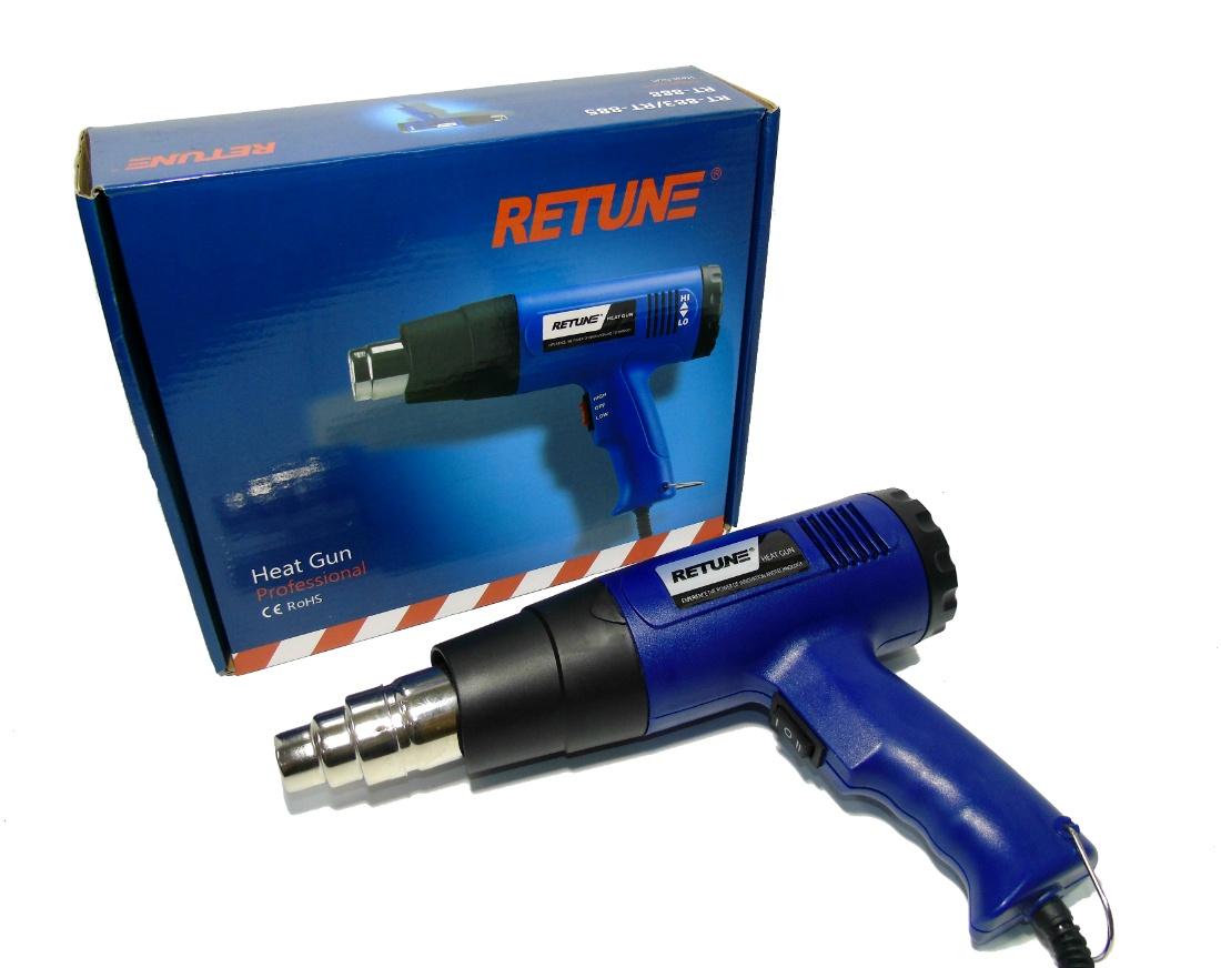 Фен строительный Mustang Retune RT-883 увлажнитель воздуха щита питания 25 вт 34 в входное напряжение 220 в 240 в
