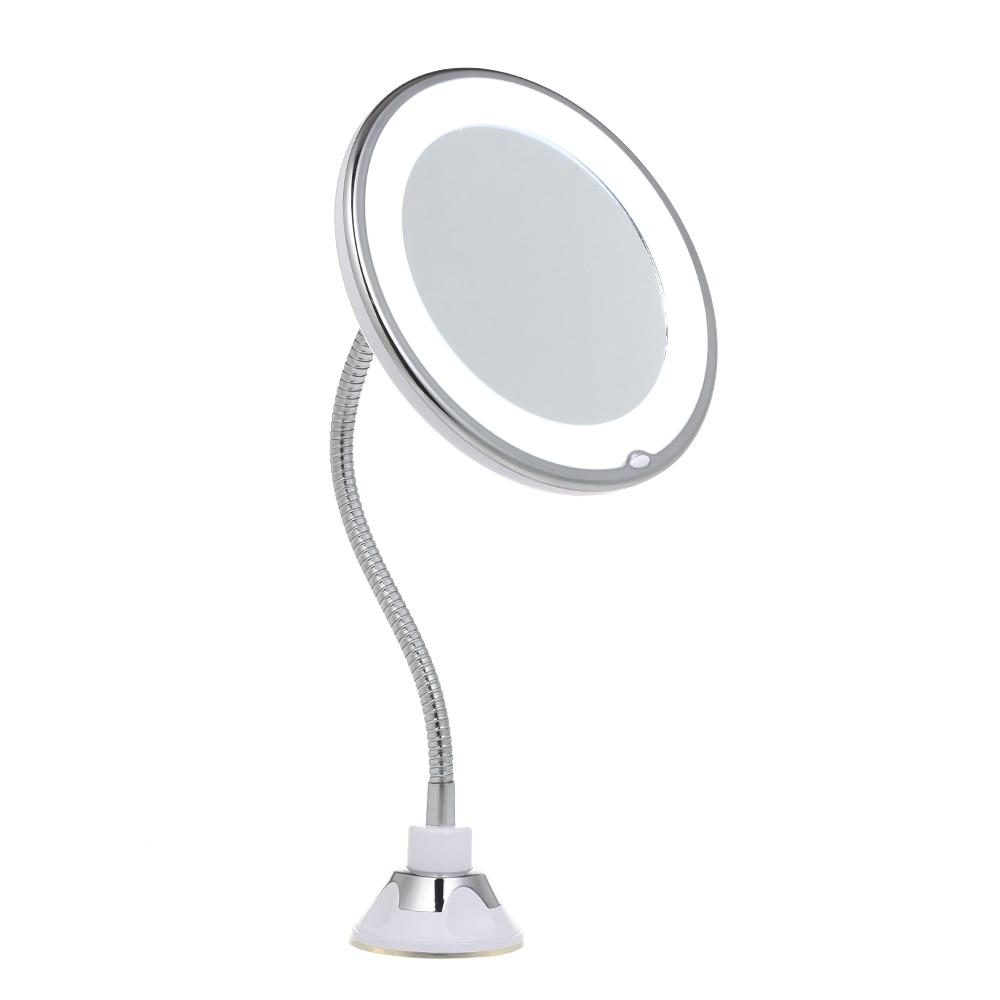 FLEXIBLE зеркало в ванную на присоске 5Х