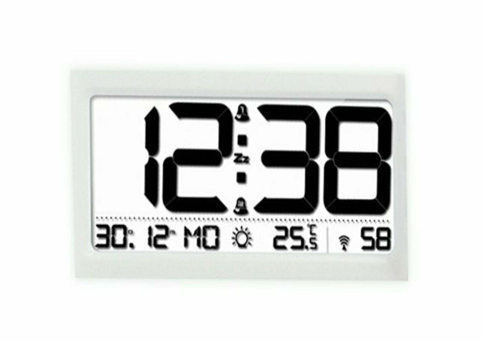 Часы-термометр BVItech, BV-47Wxx, серый