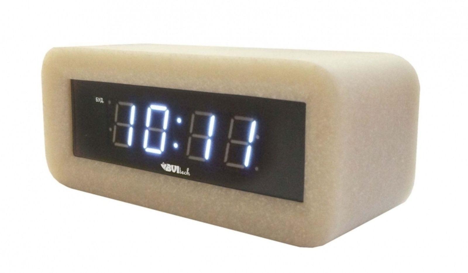 Часы электронные BVItech, BV-18WWS, белый BVItech