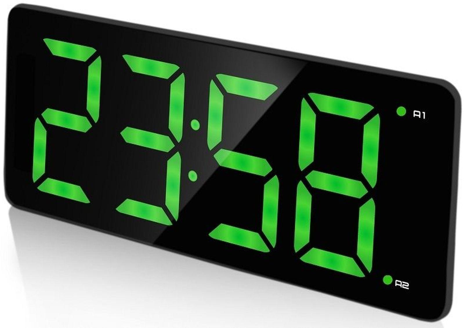 Часы электронные BVItech, BV-432G, черный