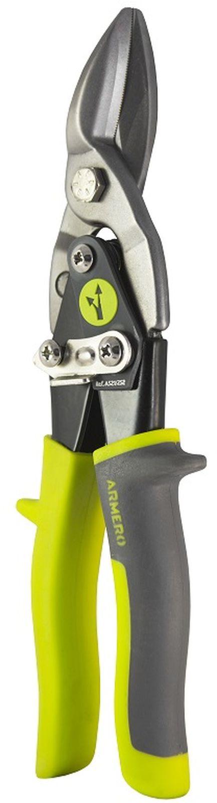 Ножницы по металлу Armero, левые, 250 мм ножницы по металлу 250мм левые nws фигурные 061l 12 250