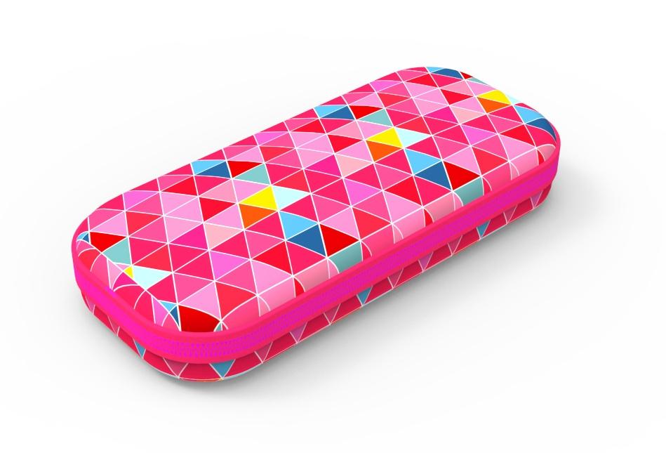 Пенал COLORZ BOX, цвет розовый