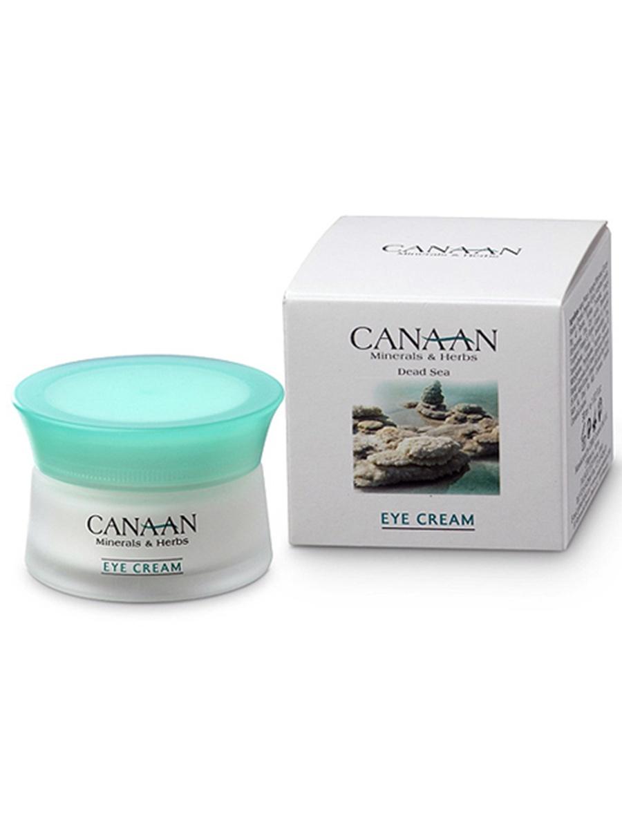 Антивозрастной крем для глаз с минералами Мертвого моря, маслами и витаминами С и Е, 30 мл, Canaan