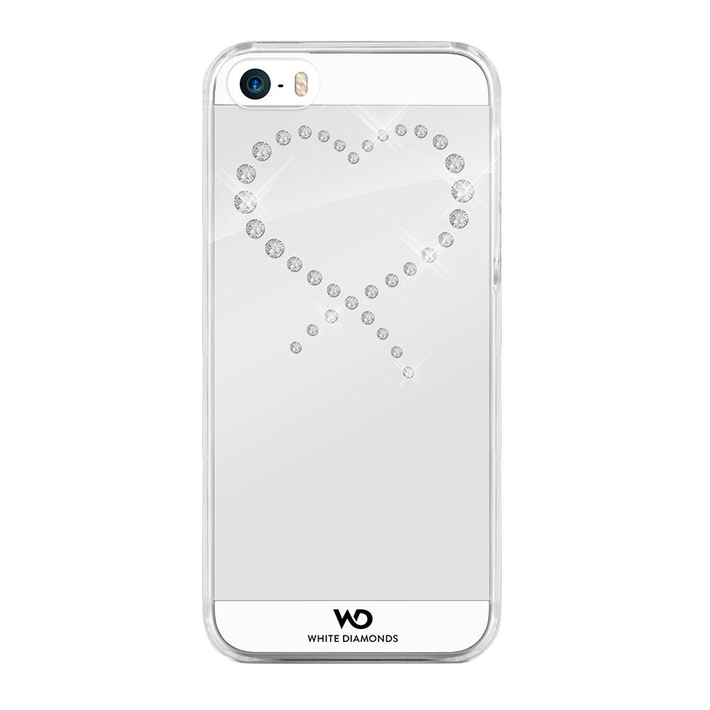 Чехол Eternity для iPhone 5/5s/SE, прозрачный/кристаллы Swarovski, 1230ETY5, White Diamonds чехол для iphone 5 5s se polo