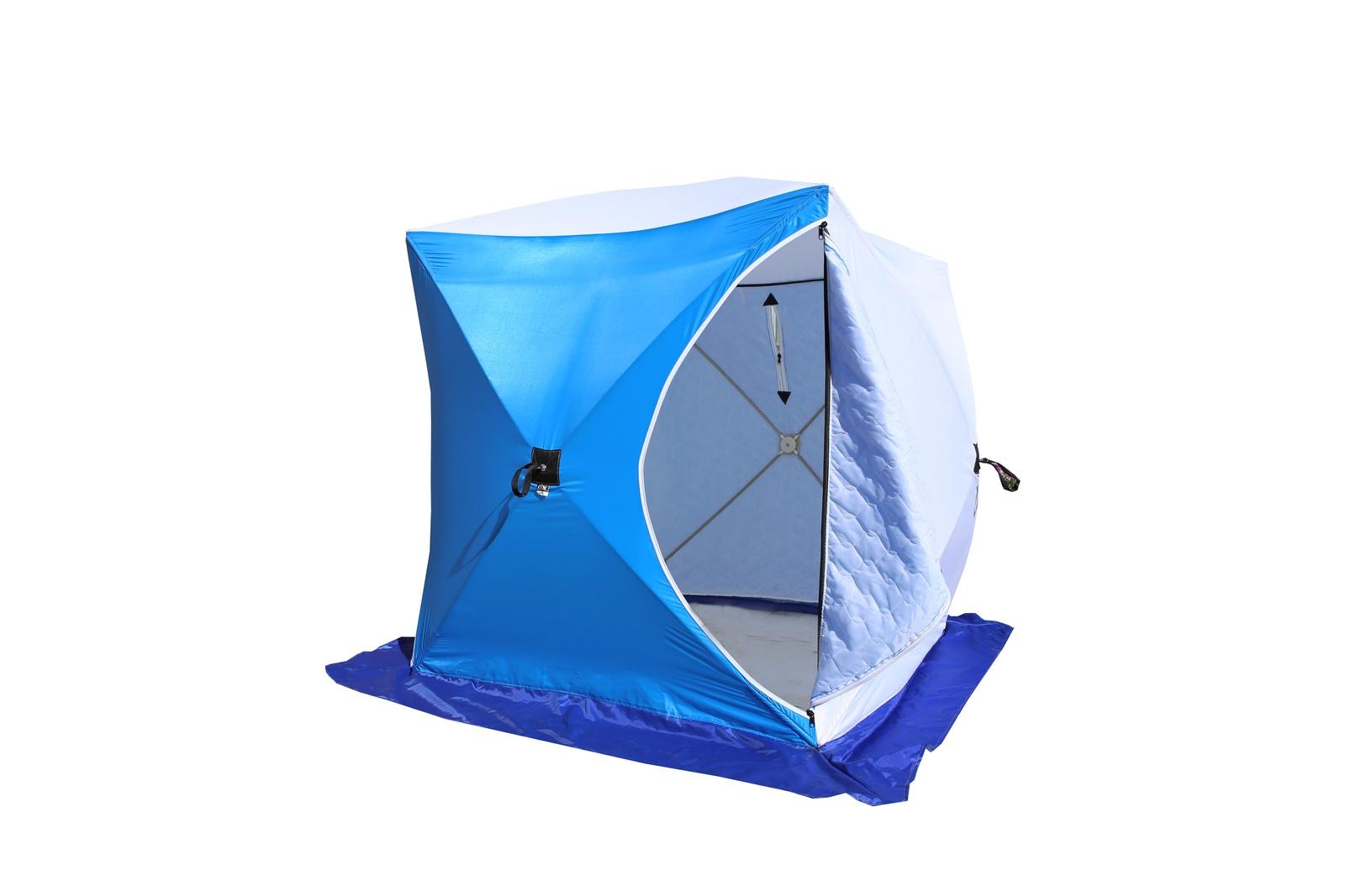Обзор зимних палаток для рыбалки куб