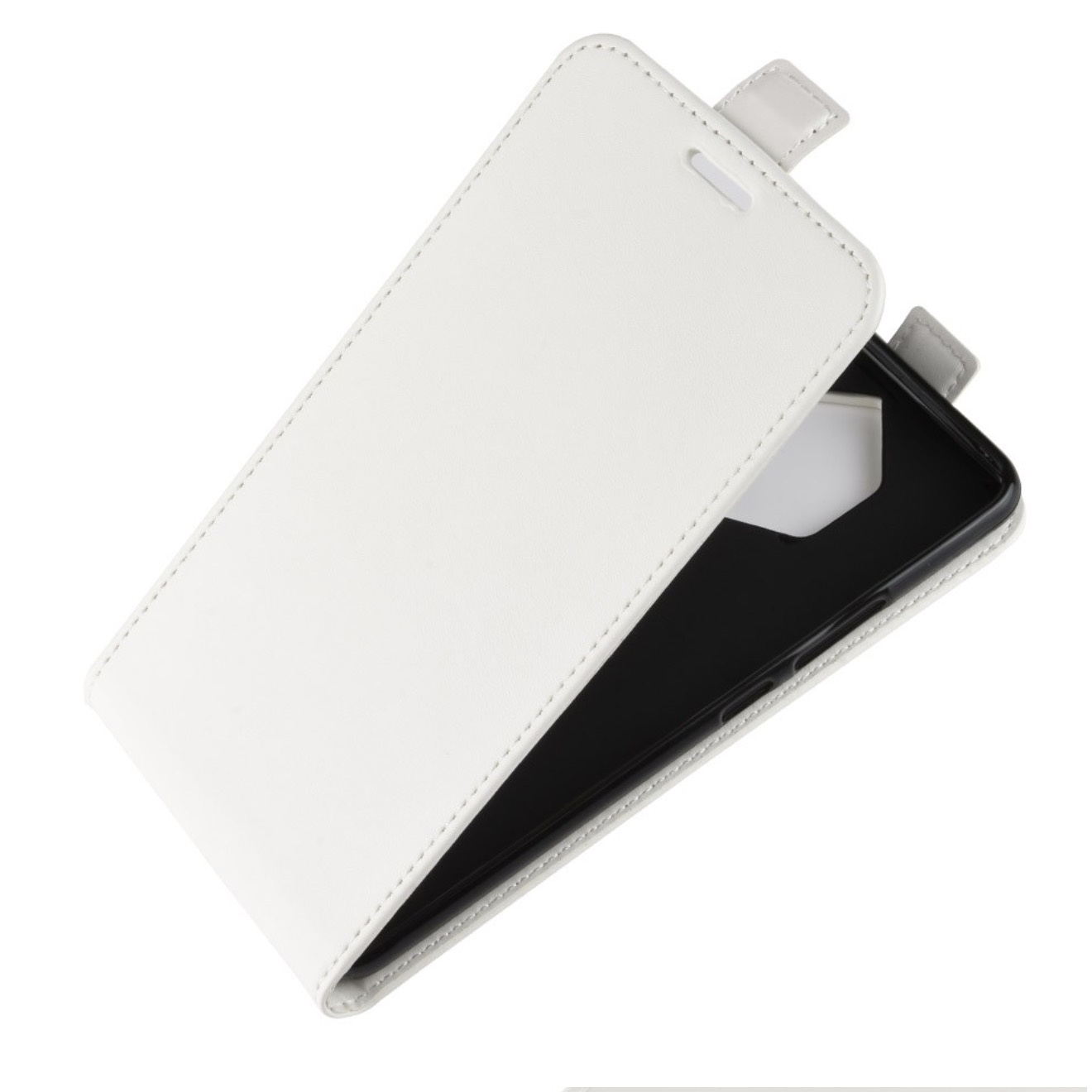 купить Чехол-флип MyPads для Alcatel One Touch Idol 2 OT 6037Y/K/B вертикальный откидной белый по цене 742 рублей