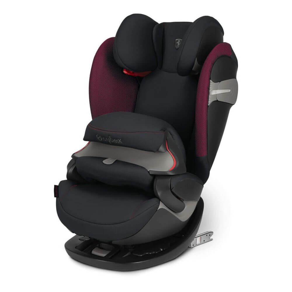 Автокресло Cybex Pallas S-Fix (Ferrari Victory Black)