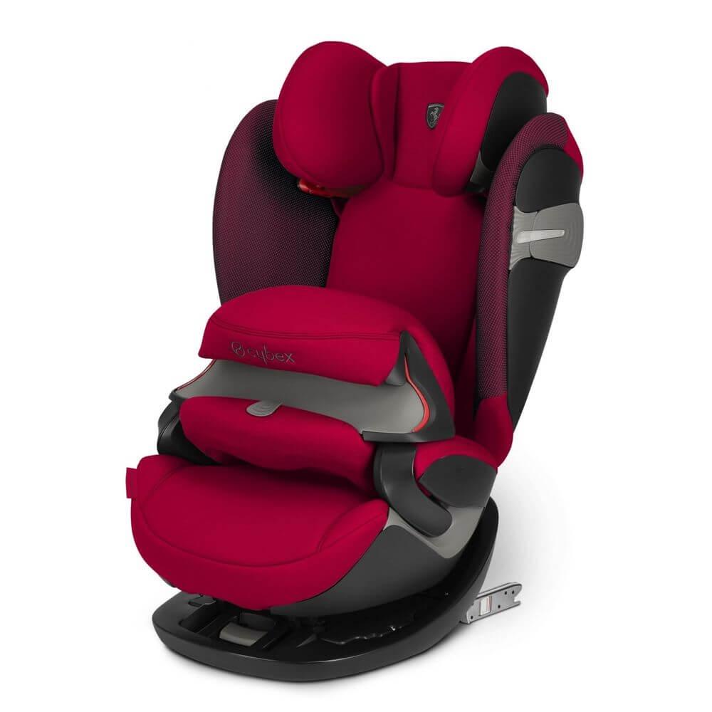 Автокресло Cybex Pallas S-Fix (Ferrari Racing Red)