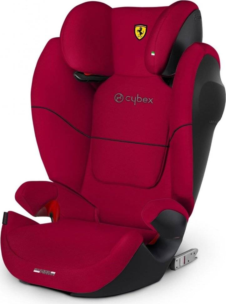 Автокресло Cybex Solution M-Fix SL (Ferrari Racing Red) автокресло cybex solution x2 fix