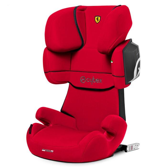 Автокресло Cybex Solution X2-Fix (Ferrari Racing Red)