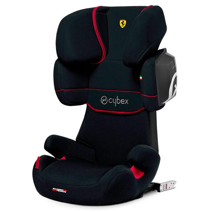 Автокресло Cybex Solution X2-Fix (Ferrari Victory Black)