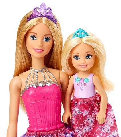 цены на Набор кукол Барби серия Dreamtopia Чаепитие  в интернет-магазинах