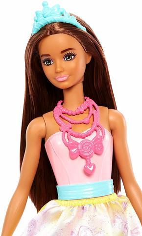 Кукла Барби серия Dreamtopia Принцесса Брюнетка