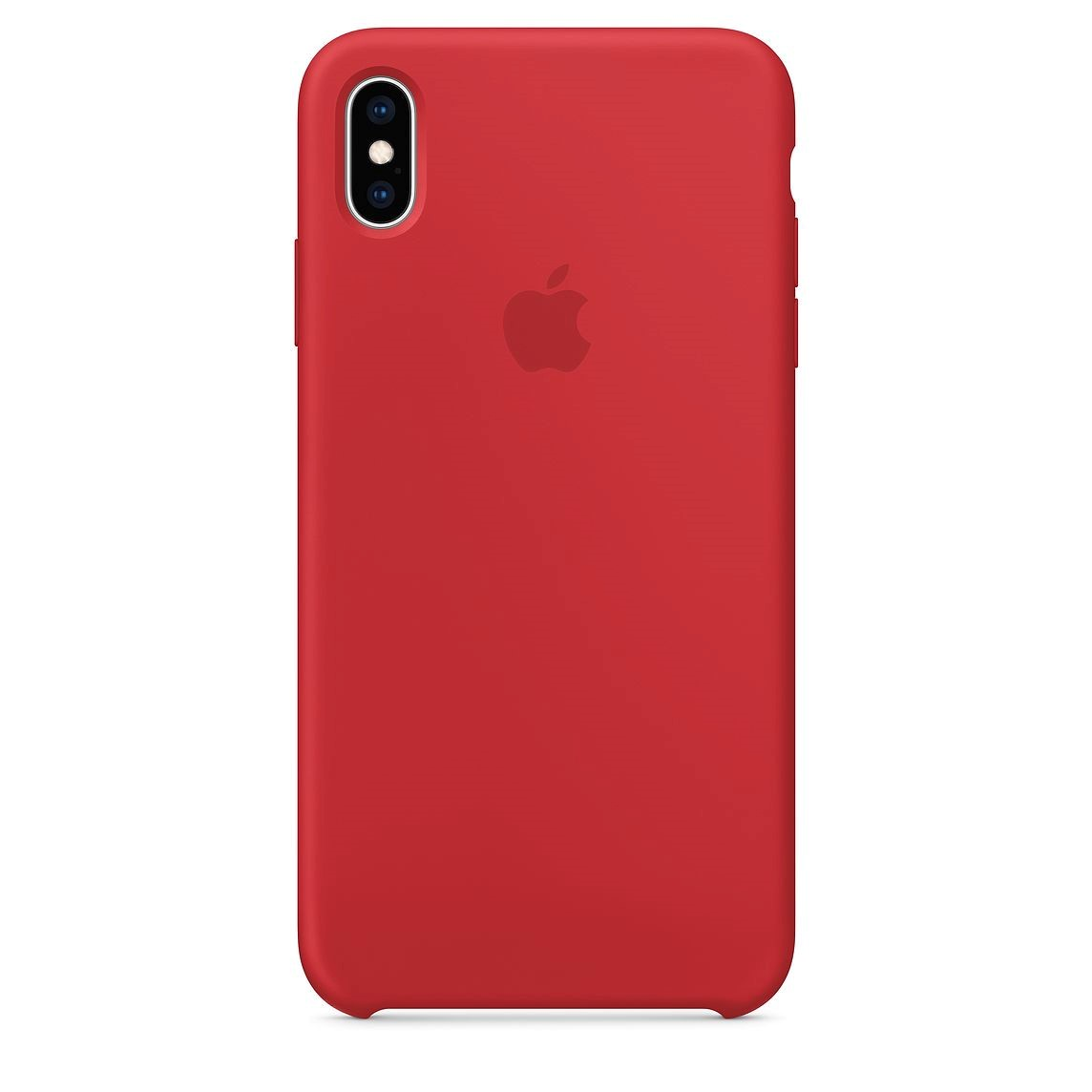 Чехол Apple Silicone Case для iPhone XS Max, Red чехол для apple iphone xs max silicone case nectarine