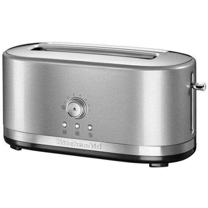 Тостер KitchenAid Artisan, серебристый, 5KMT4116ECU