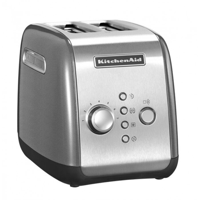 лучшая цена Тостер KitchenAid, серебристый, 5KMT221ECU