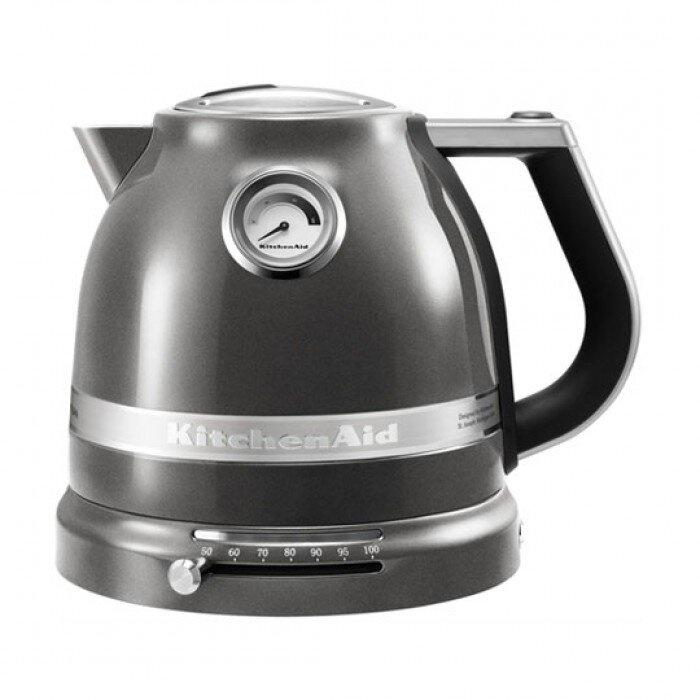 Чайник KitchenAid ARTISAN, серебряный медальон, 5KEK1522EMS чайник электрический kitchenaid 5kek 1522 efp