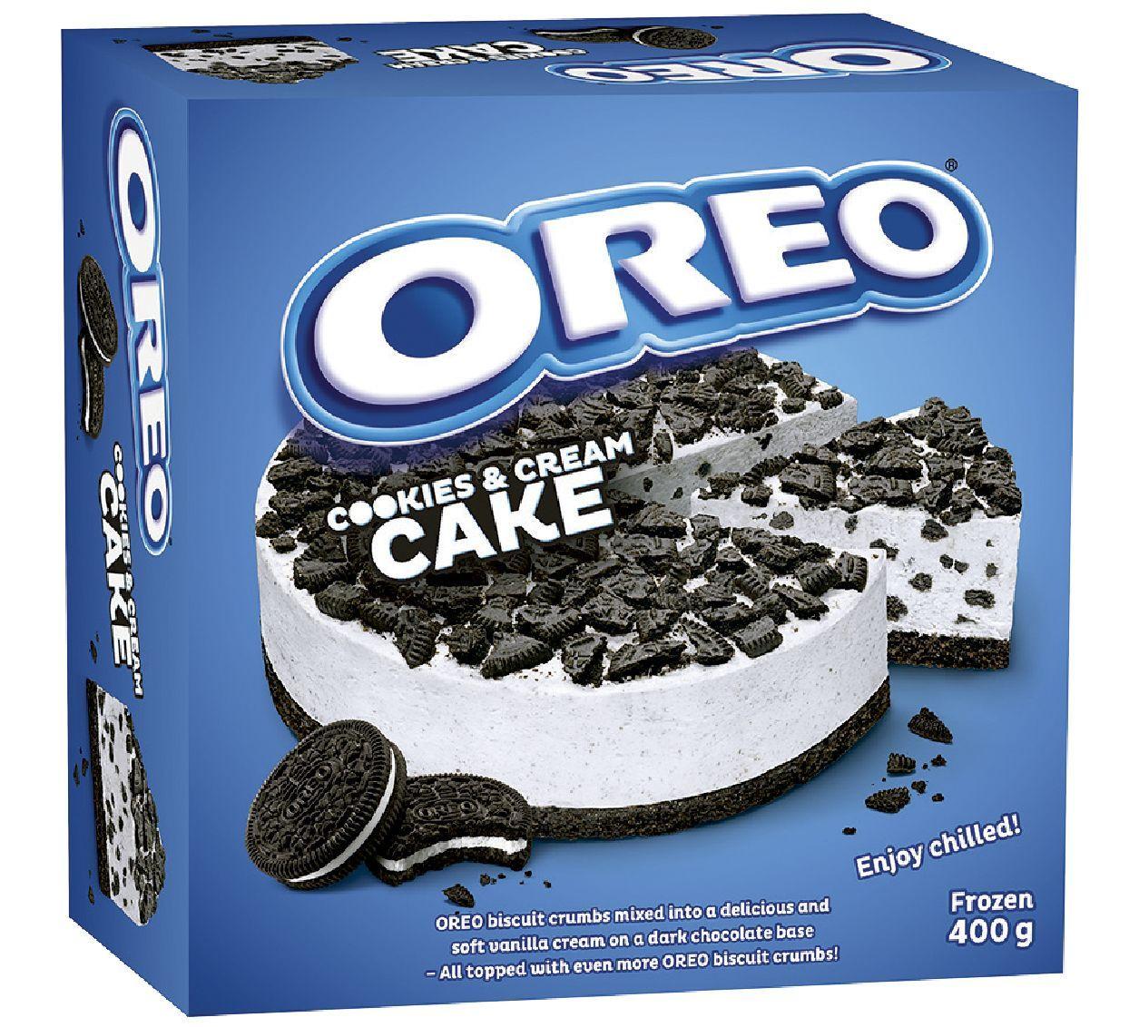 Шоколадный торт с печеньем OREO и сливками (ТМ Almondy) 400г*8