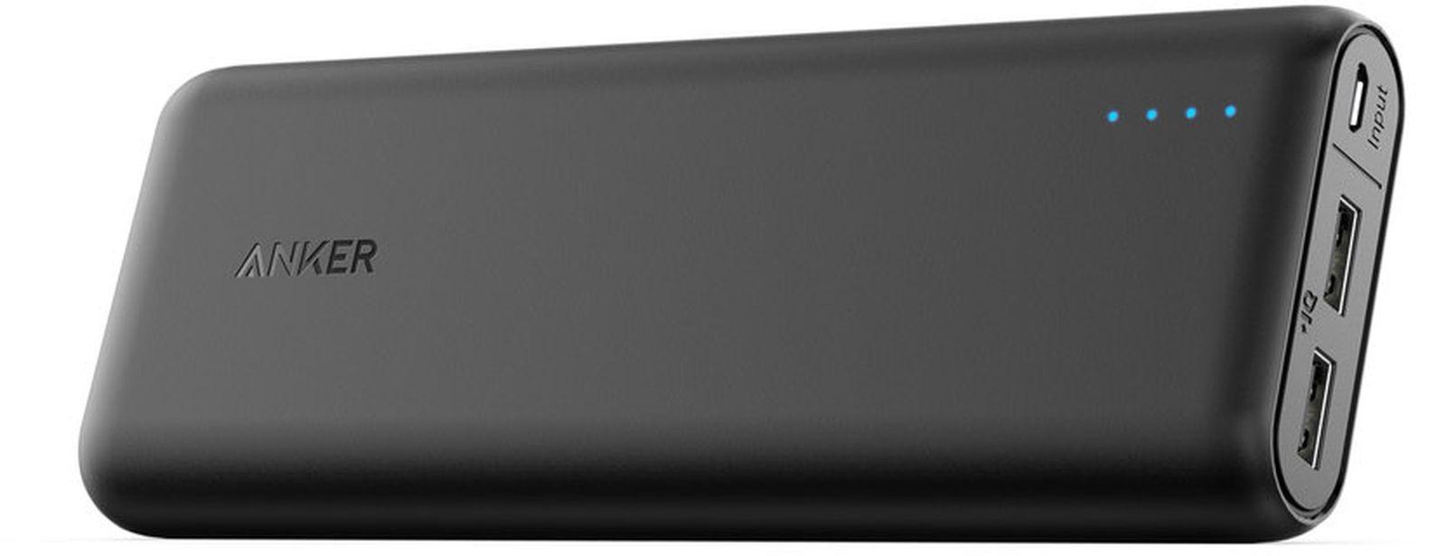Внешний аккумулятор Anker PowerCore External Battery 15600mAh, black стоимость