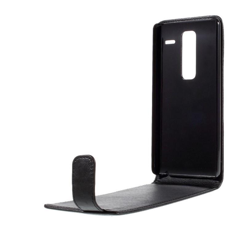 Чехол-флип MyPads для LG Class H740 /H650E 5.0 вертикальный откидной черный цена в Москве и Питере