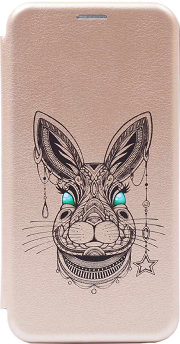Чехол-книжка Book Art Jack Grand Rabbit для Huawei Honor 9 Lite золотой GOSSO CASES