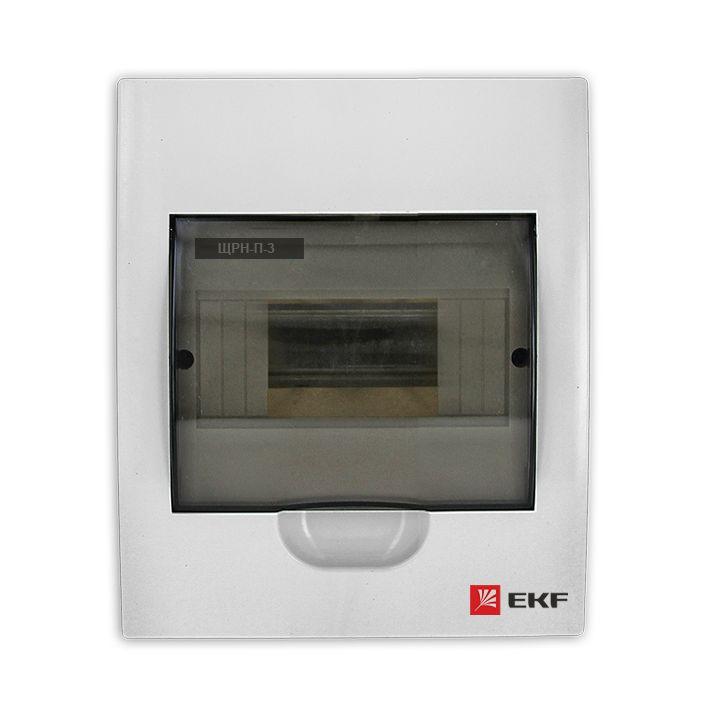 Распределительный щит EKF PROxima ЩРН-П-3, IP41, pb40-n-3, белый кнопка управления ekf sw2c 11 возвратная no nc
