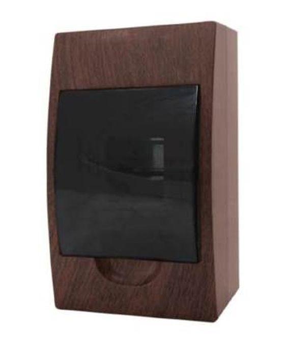Распределительный щит EKF PROxima ЩРН-П-4, IP41, pb40-n-4-dark, темно-коричневый кнопка управления ekf sw2c 11 возвратная no nc