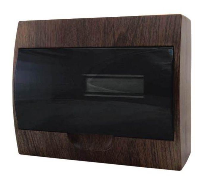 Распределительный щит EKF PROxima ЩРН-П-12, IP41, pb40-n-12-dark, темно-коричневый ограничитель ekf opv d1