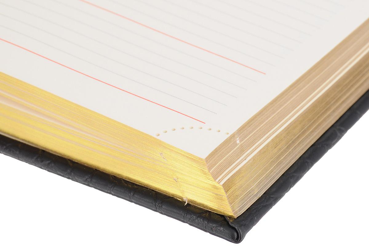 BraubergЕжедневник Cayman недатированный 160 листов цвет черный коричневый формат A5 123399 Brauberg