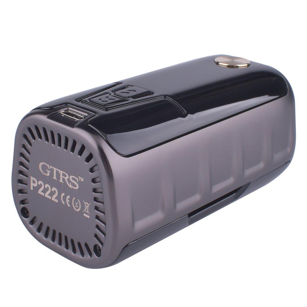 GTRS P222,Батарейный мод для вейпа Бокс мод GTRS P222 TC Box MOD - 222 ВтХарактеристики:Аккумулятор 2...