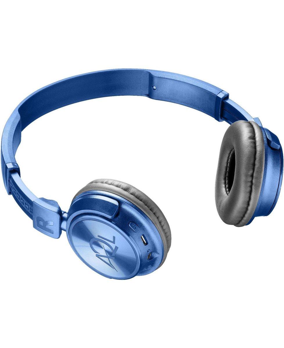 Накладные наушники Bluetooth AQL/Cellularline HELIOS TRAVEL FOLDABLE Blue (BTHEADBHELIOSB) цена