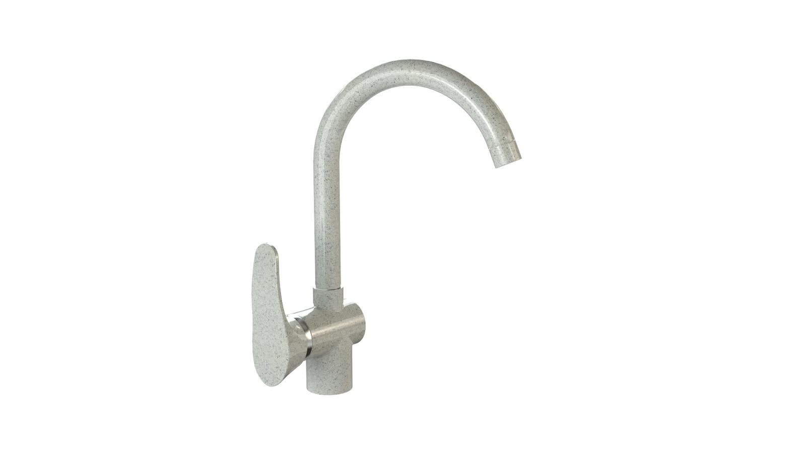 Смеситель для кухни глянцевый MARRBAXX MG-005Q010 светло-серый цена и фото