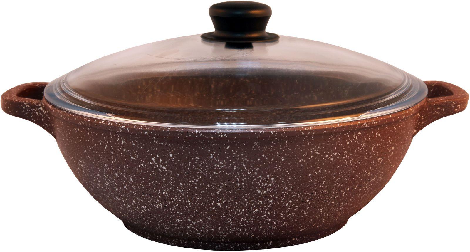Казан Традиция Доломит, ТД0283, темно-коричневый, 4 л