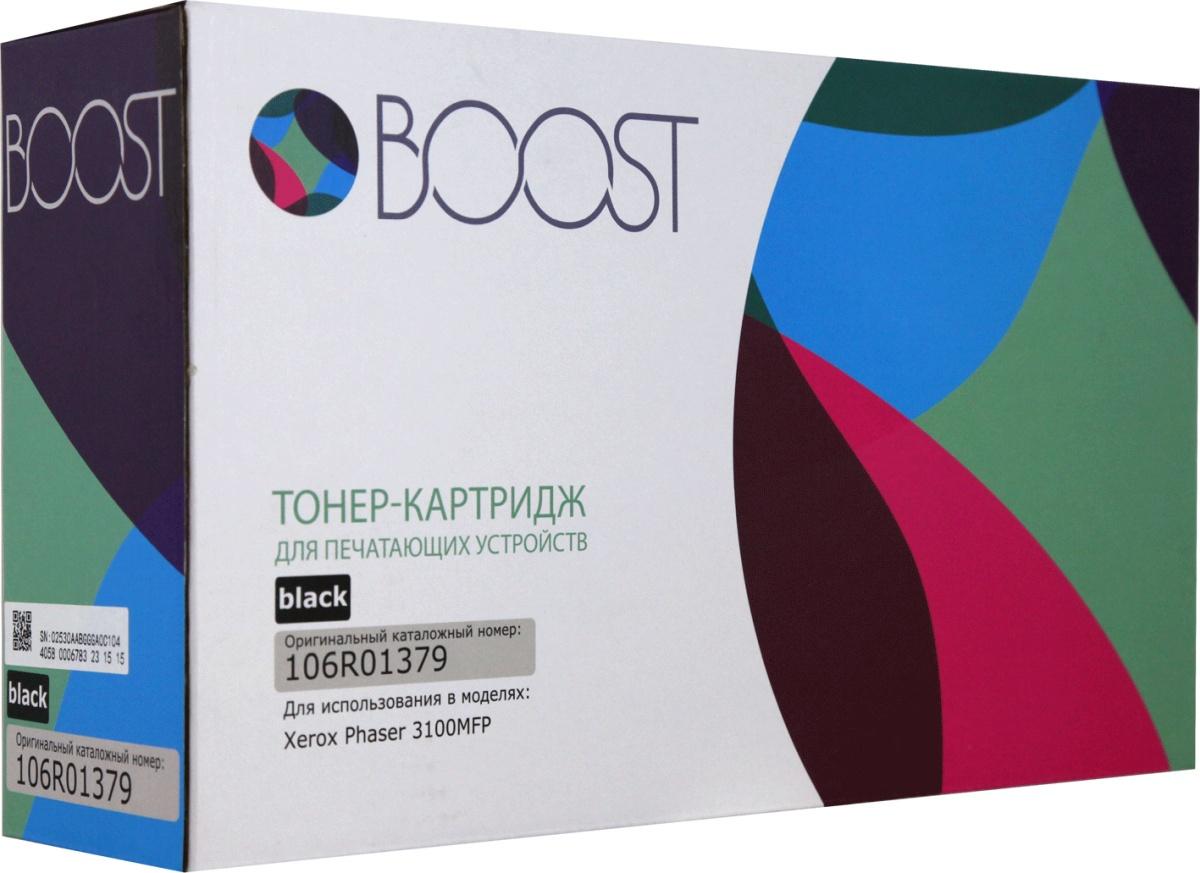 Boost 106R01379, Черный тонер-картридж для Xerox Phaser 3100MFP/3100MFPS/3100MFPX